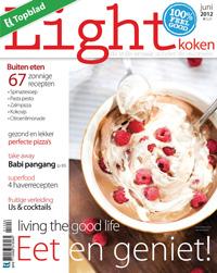 Interview Eva de Beijer in Light Koken magazine